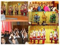 Концерт Чувашского государственного ансамбля песни и танца для учащихся 2-9 классов