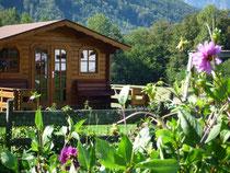 Bauernhofurlaub Gartenhaus
