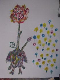 das rosenhuhn