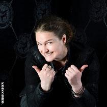 Unser Lehrtochter Dominique Linhardt. Dominique Linhardt / Goldschmiedin