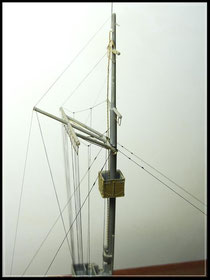 Uschi rigging takelage ship model
