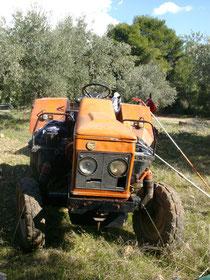 Unser kleiner roter Traktor