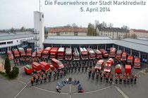 Die Feuerwehren der Stadt Marktredwitz
