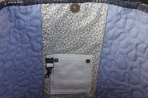 Madame Marie, Aus meinem Atelier, Taschen, Lisa, grosse Tasche, Detail