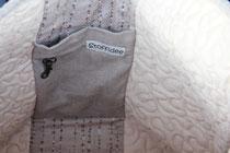Madame Marie, Aus meinem Atelier, Taschen, Lea, sportlich schlichte Tasche, Detail