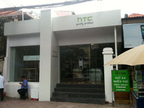 HTC's branded retail outlet in Ho Chi Minh City
