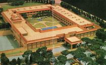 Prospektbild Novotel Agra aus dem Jahr 1993