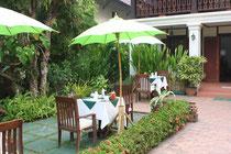 Frühstückstisch Luang Prabang Residence