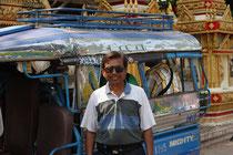 Unser Tuk-Tuk Fahrer in Vientiane