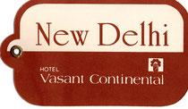 Kofferanhänger Vasant Continental, New Delhi