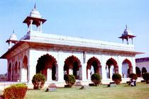 Diwan-I-Kas, Rotes Fort, Neu Delhi