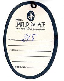 Kofferanhänger Jaipur Palace Hotel