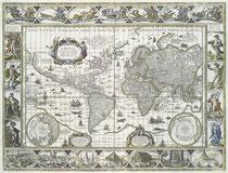 Willem Blaeu - Nova totius terrarum orbis geographica ac hydrographica tabula