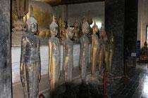 Buddhastatuen im Wat Visounarath, Luang Prabang