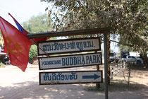 Eingang zum Buddha-Park, Vientiane