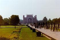 Eingang zum Taj Mahal, Agra