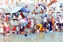 Rituelle Waschung, Varanasi