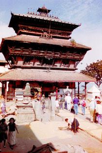 Bagh Bhairav Tempel, Kirtipur