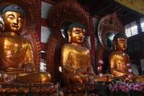 Buddhas im Liurong-Tempel, Guangzhou