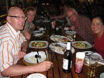 Fisch in Salzkruste im Moon Terrace Restaurant