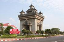Patu Xai, Vientiane, Laos