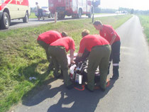 Zu den Bilder vom Unfall und vom Fest bitte  hier klicken