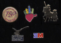 Pins variados C. Real Y C.L.M.