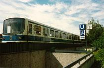 U-Bahn-Haltestelle Freimann