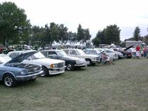 Auch zahlreiche PKW-Oldtimer waren zu sehen