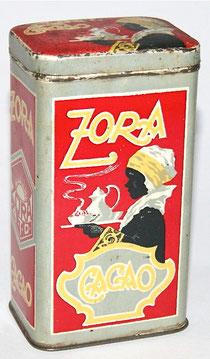 Zora Cacao Blechdose