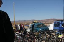 sauber geputzte Fahrräder