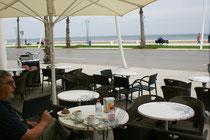 Zu diesig, die spanische Küste ist nicht zu sehen