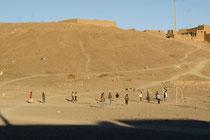 Marokkos Jugend beim Spielen