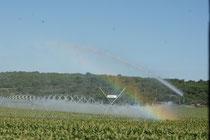 Grossflächige Bewässerung