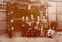 Erstes Orchesterfoto nach der Gründung