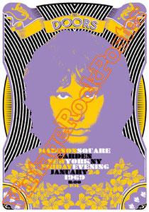 doors, Jim Morrison, Ray Manzarek, Robby Krieger, John Densmore, Rick Manzarek, Jim Manzarek, Pat Sullivan,psychedelic,psichedelia,gloria,doors poster,king snake,new york,madison square garden