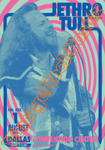 jethro tull,Ian Anderson, Martin Barre, Anna Phoebe, David Goodier,jethro tull poster,affiche,concerto,concert,live show,classic rock,vintage rock posters