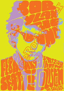 bob dylan,robert allen zimmerman,bob dylan poster,concerto, concert, live show,tamburine man,hurricane,seattle, 1974