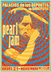 pearl jam, Eddie Vedder, Mike McCready, Stone Gossard,pearl jam poster,concert,grunge,rock, grunge music,seattle,ten,lightning bolt,vitalogy,backspacer