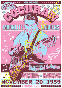 eddie cochran,gaumont,larry parnes,uk,england,cardiff,1960,swing