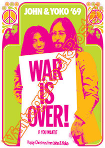 john lennon, pace, yoko ono,beatles,war is over, imagine,john lennon poster,vintage rock posters,vietnam,jealous guy,john & yoko,hippy,60s,1980,