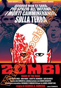zombi,zombie,dawn of the dead,george romero, horror, zombi movie, zombi poster, horror poster, orrore, cinema dell'orrore, mostri, monsters, villains, cannibal,death