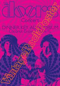 doors, Jim Morrison, Ray Manzarek, Robby Krieger, John Densmore, Rick Manzarek, Jim Manzarek, Pat Sullivan,psychedelic,psichedelia,gloria,doors poster,king snake,dinner key auditorium