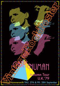 gary numan,electronic music, new wave,pop music,numan poster,glam rock,1979, punk,emo,concert,live show,tubeway army,the pleasure priciple,splinter,telekon,l assassin