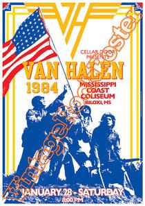 van halen,van halen poster,van halen concert,David Lee Roth, Sammy Hagar, Eddie van Halen, Alex van Halen, Wolfgang Van Halen,jump,classic rock,heavy metal,panama,cant stop lovin you,dreams,ou812