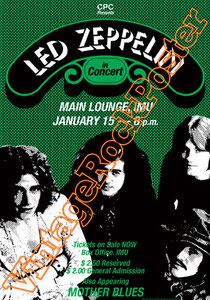 led zeppelin,Jimmy Page, Robert Plant, John Bonham, John Paul Jones,led zeppelin poster,led zeppelin concert,rock n roll,classic rock,vintage rock posters,stairway to heaven,immigrant song,whole lotta