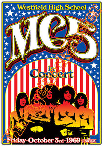 mc5,Wayne Kramer, Fred Smith, Rob Tyner, Michael Davis, Richard Manitoba, Dennis Thompson,detroit,punk,american metal,american punk,mc5 poster,mc5 concert,westfield high school,poster,manifesto,affich