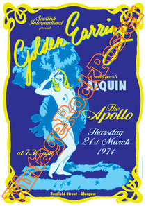 golden earring,Barry Hay, George Kooymans, Rinus Gerritsen,glam rock,rock n roll,classic rock,the netherland,holland,olanda,rock olandese,golden earring poster,glasgow,1974