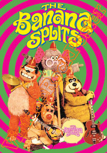 the banana splits,pongo,banana band,movie,tv serie,tv dei ragazzi ,cartoni animati,bande dessine,puppet,pupazzi
