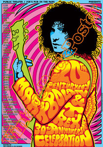 marc bolan,t rex, glam rock, rock n roll, 70s, poster, affiche, vintage rock posters, manifesto, new york, central park
